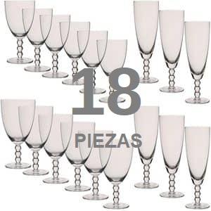 Comprar CristalerÍas de 18 Piezas Online